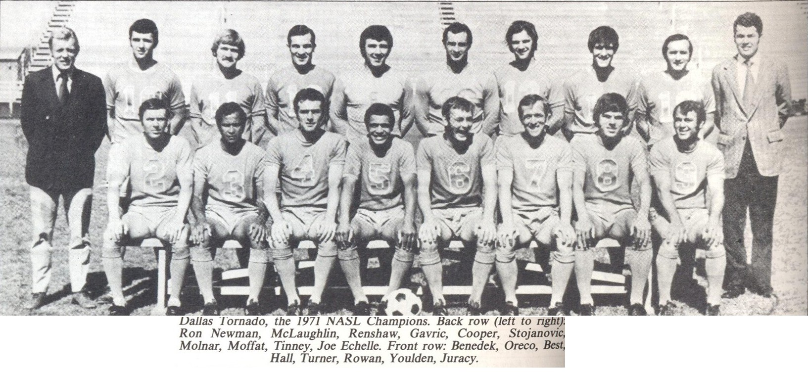 DALLAS TORNADO 1971 Home