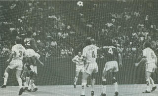 NASL Soccer Boston Minutemen at Tornado 1974 Jackson, Short, Turner, Paddy Greenwood, Ade Coker