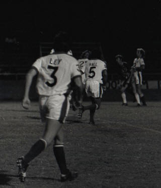 Dallas Tornado 1976 George Ley, Dick Hall, Thunder