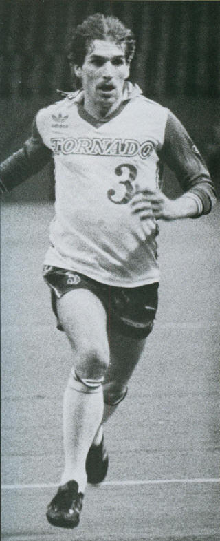 NASL Soccer Dallas Tornado 1980 Home Peter Gruber