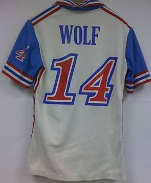 Tornado 81 Home Jersey Ede Wolf Back