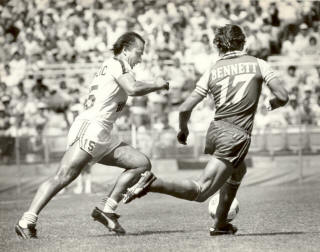 Washington Diplomats Dallas Tornado Peter Baralic Carl Bennett