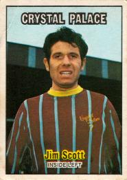 Crystal Palace 70-71 Home Jim Scott