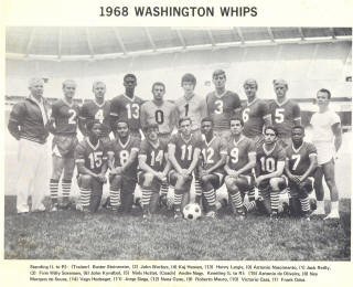 NASL Soccer Washington Whips 68 Road Team (2)