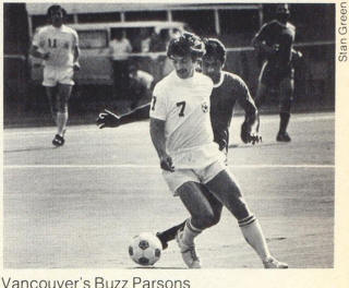 NASL Soccer Vancouver Whitecaps 77 Home Buzz Parsons 2