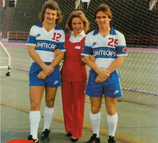 Vancouver Whitecaps 1982 Home Paul Nelson, Gerry Gray