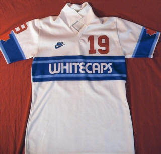 NASL Soccer Vancouver Whitecaps 84 Home Jersey Ralph Mazzucco