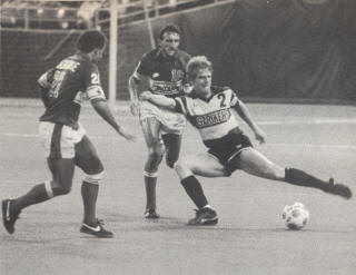 Vancouver Whitecaps 1984 Road Back Carl Valentine, David Cross