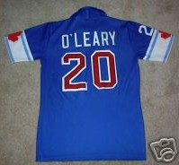 NASL Soccer Vancouver Whitecaps 84 Road Jersey Pierce O'Leary Back